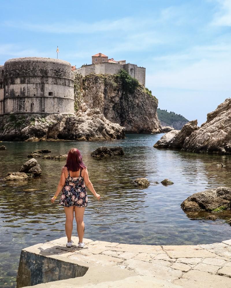 Exterior view of Dubrovnik Old Town, Croatia