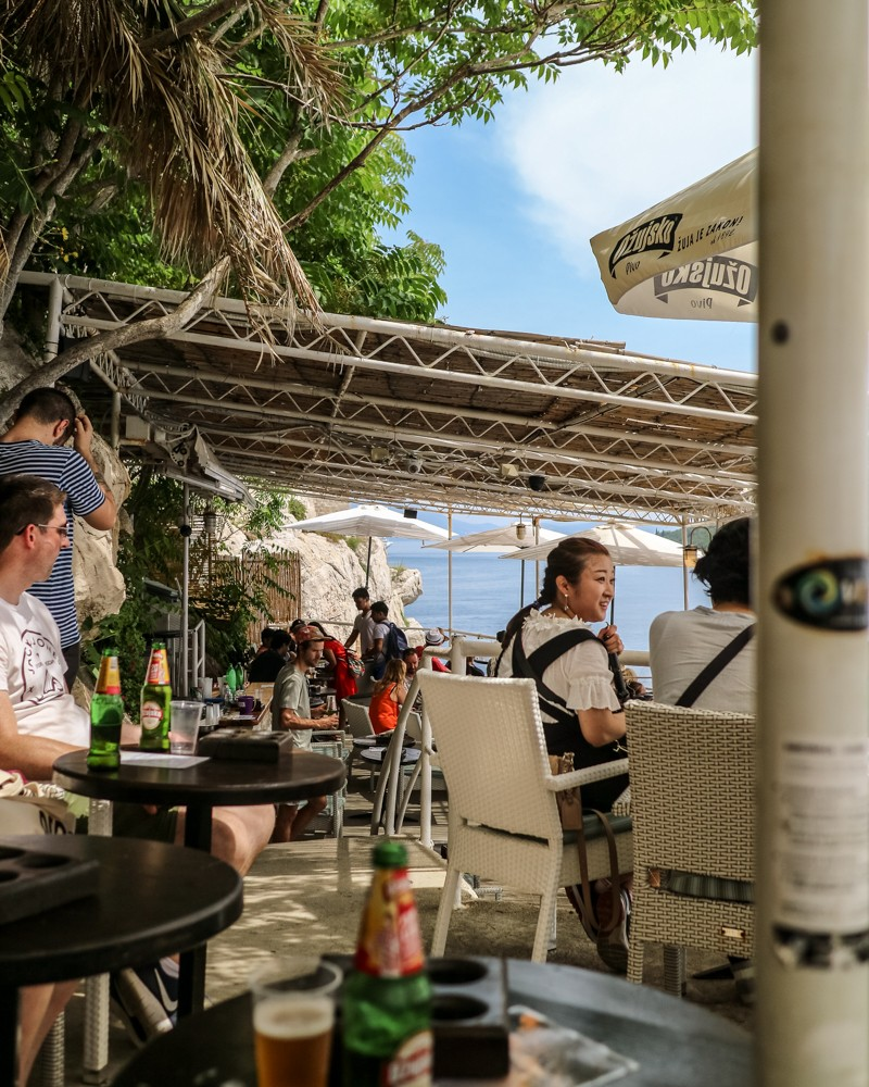 Buza Bar in Dubrovnik, Croatia