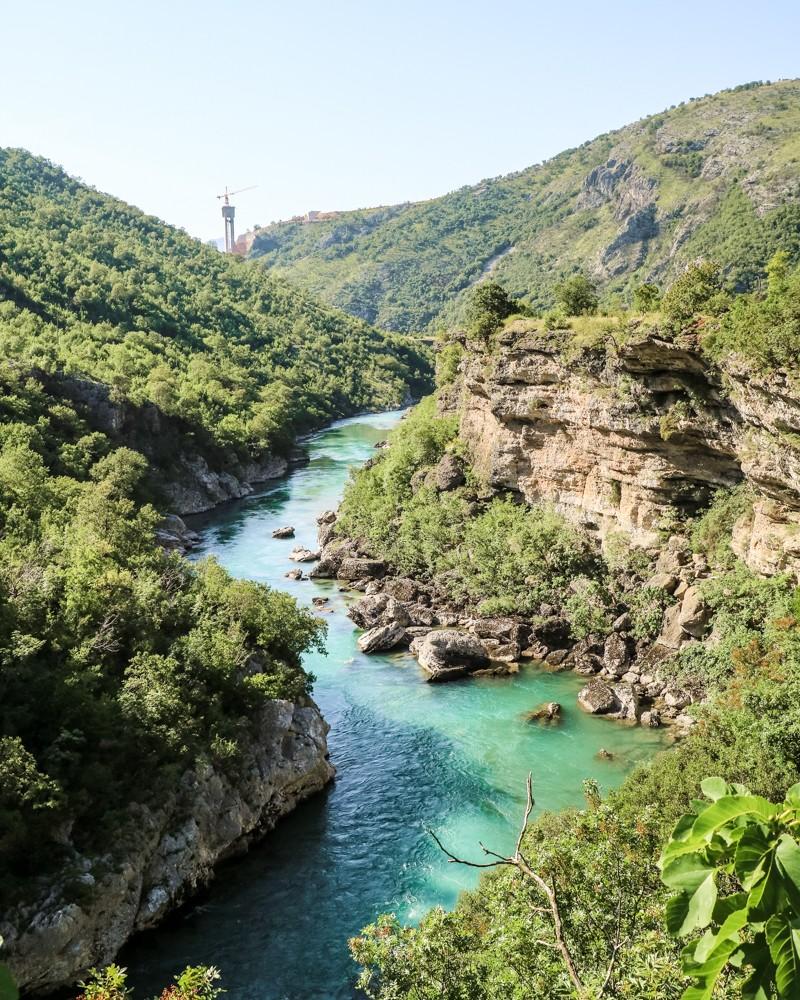 Moraca River, Montenegro