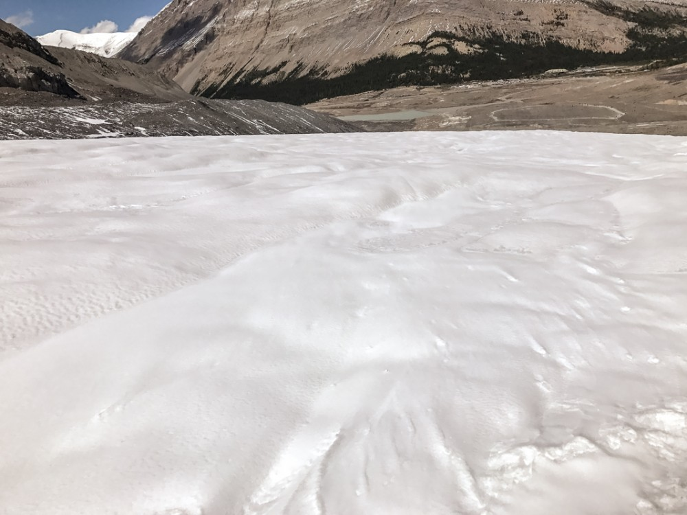 Ice walking on the Athabasca Glacier, Canada