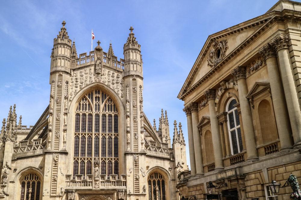 Cathedral in Bath, England | A day trip to Bath