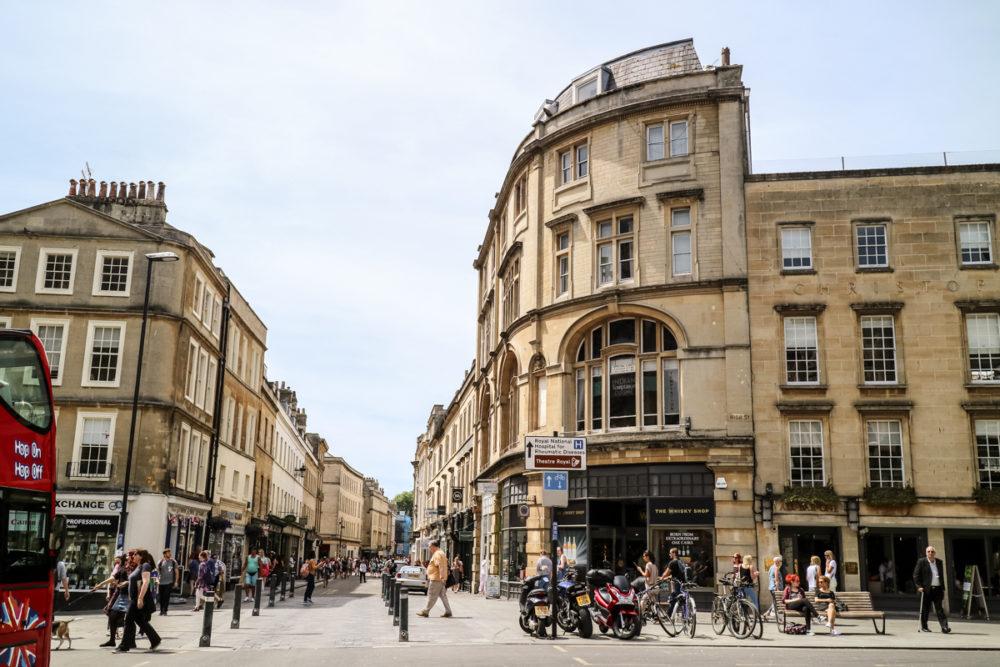 Street in Bath, England | A day trip to Bath