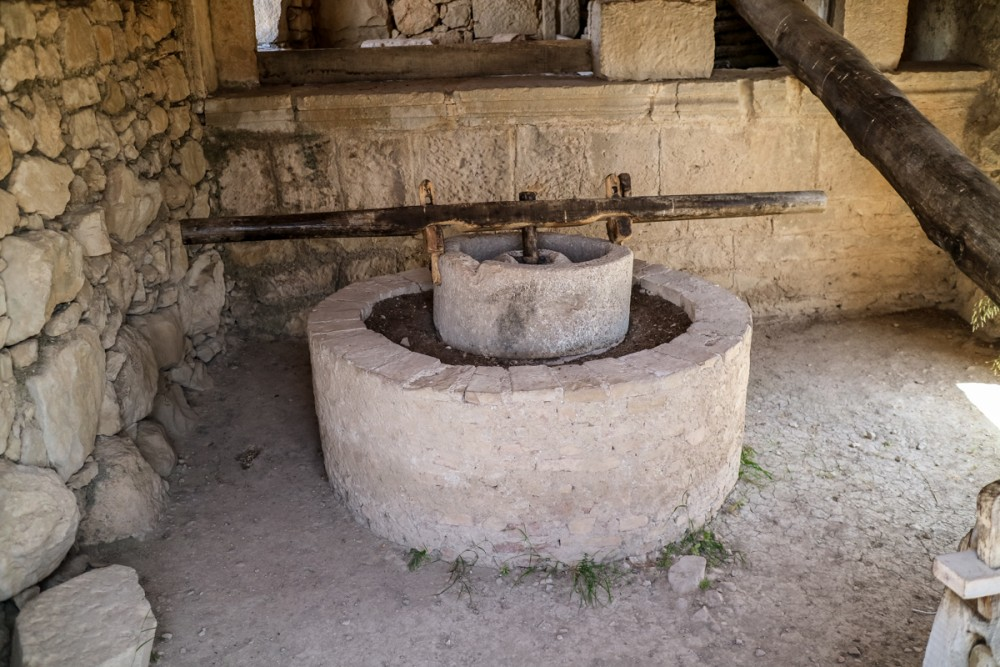 Olive Oil press at Volubilis, Morocco | Guide to Volubilis archaeological site