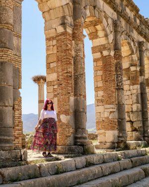 Exploring Volubilis, Morocco's Roman Ruined City