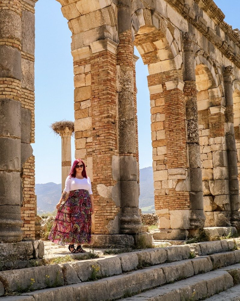 Exploring Volubilis, Morocco's Roman Ruined City
