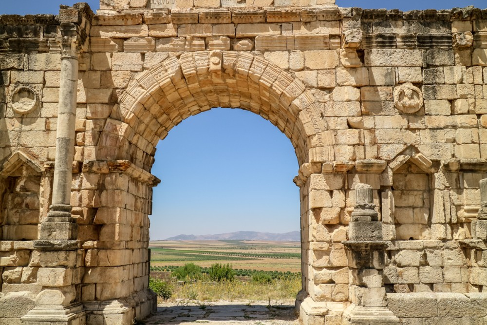 Ruins of Volubilis, Morocco | Guide to Volubilis archaeological site