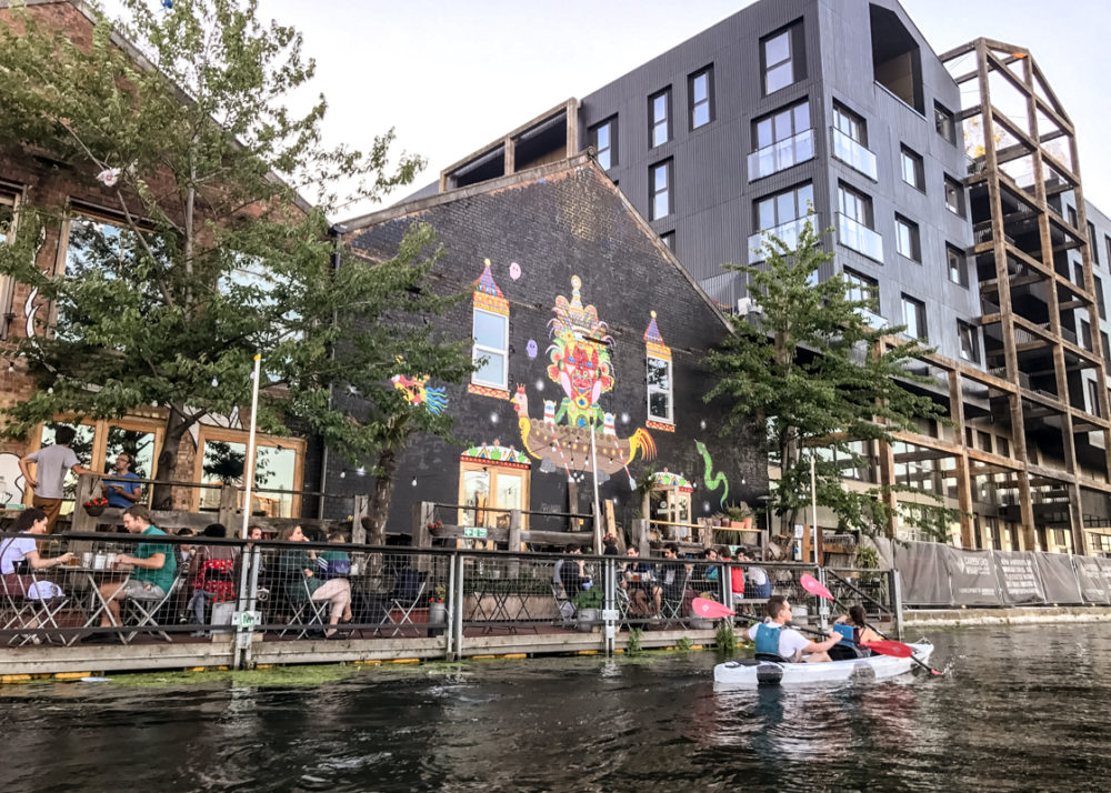 Urban kayaking in London with Secret Adventures