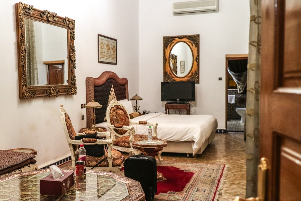 Yasmine Suite in Palais D'Hotes Suites & Spa, Fez | Hotels in Fez, Morocco
