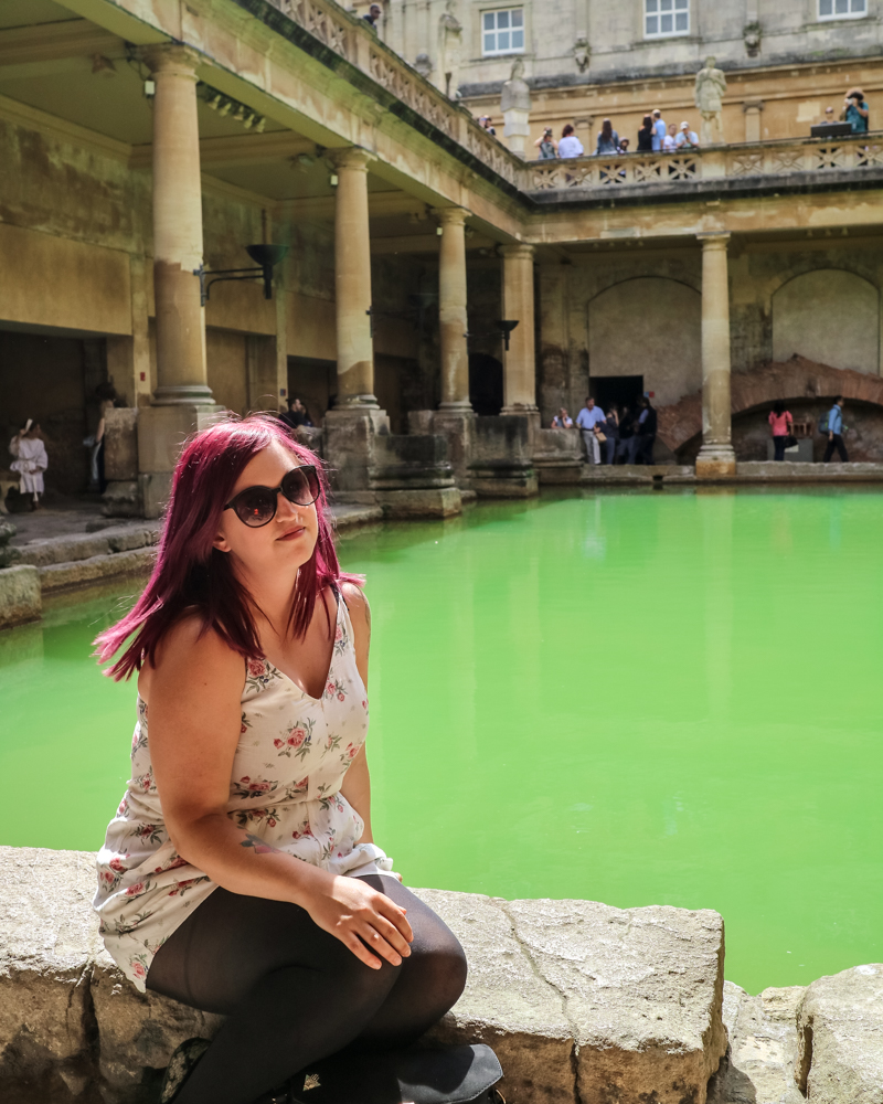 Roman Baths on a day trip to Bath and Stonehenge by coach