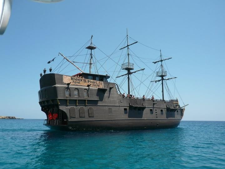 The Black Pearl Pirate Ship, Aiya Napa | Things to do in Cyprus