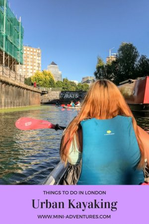 Urban kayaking on London's oldest canal | Unusual things to do in London