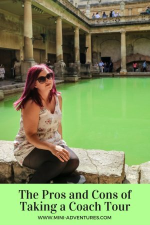 The pros and cons of taking a coach tour | Roman Baths on a day trip to Bath and Stonehenge by coach