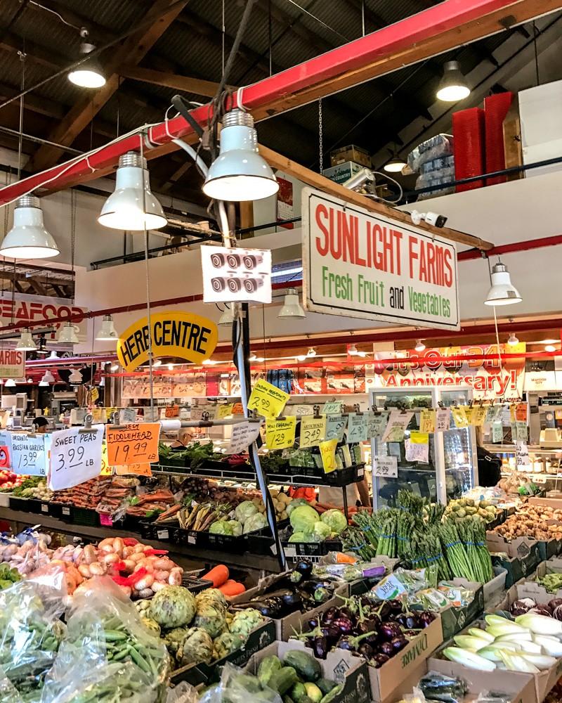 Public Market at Granville Island, Vancouver