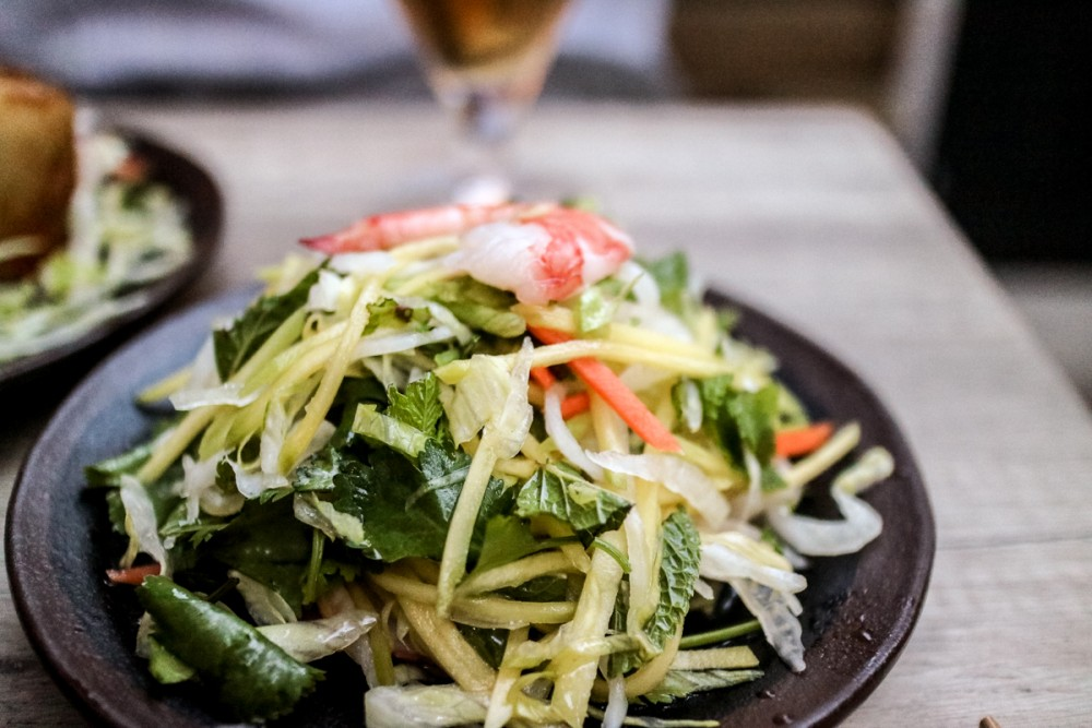 Mango Salad with Tiger Prawns at Viet Eat Vietnamese Restaurant, London | Review