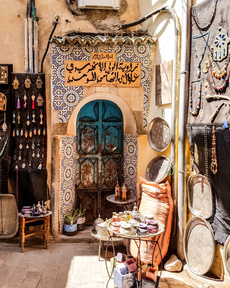 Street in Fes el Bali medina | Places to visit in Fez