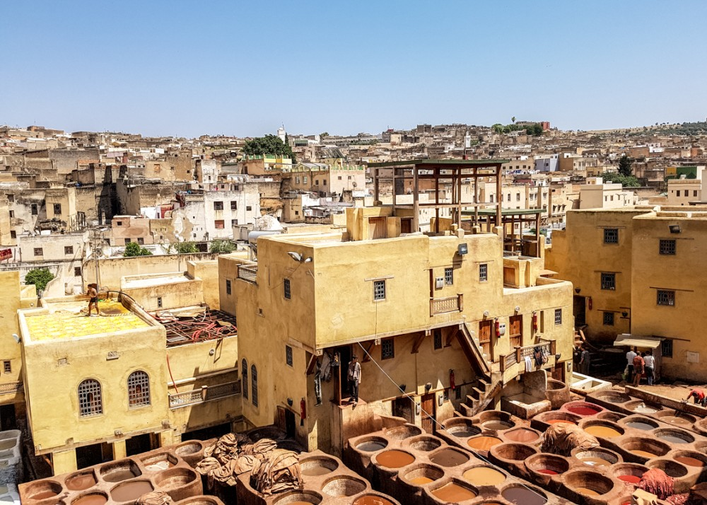Chouara Tannery, Fes el Bali | Places to visit in Fez, Morocco