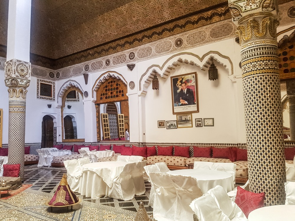 Palais Mnebhi, Fes el Bali | Places to eat in Fez, Morocco