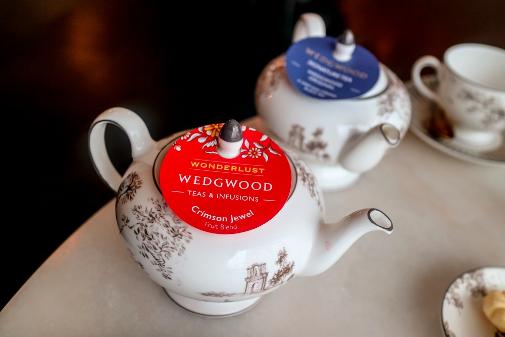 Traditional English Afternoon Tea at World of Wedgwood, Stoke-on-Trent