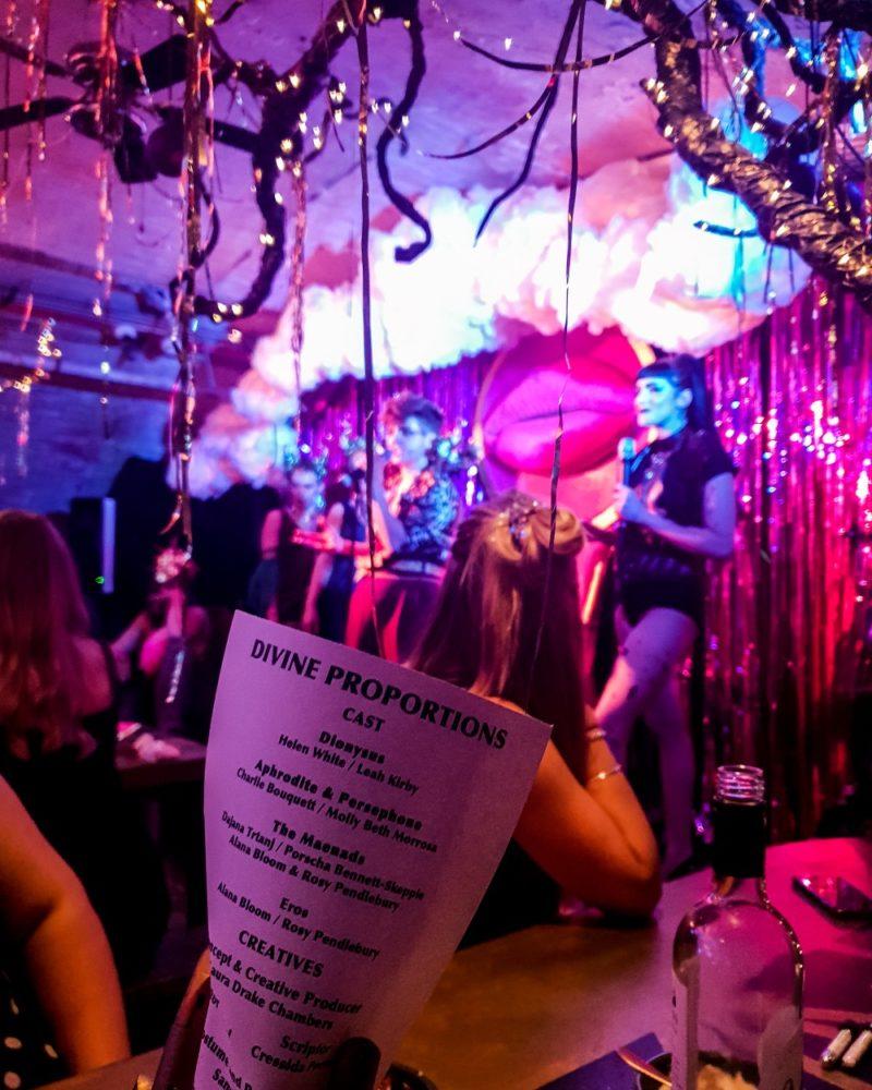 Dining, Dancing & Debauchery: Divine Proportions