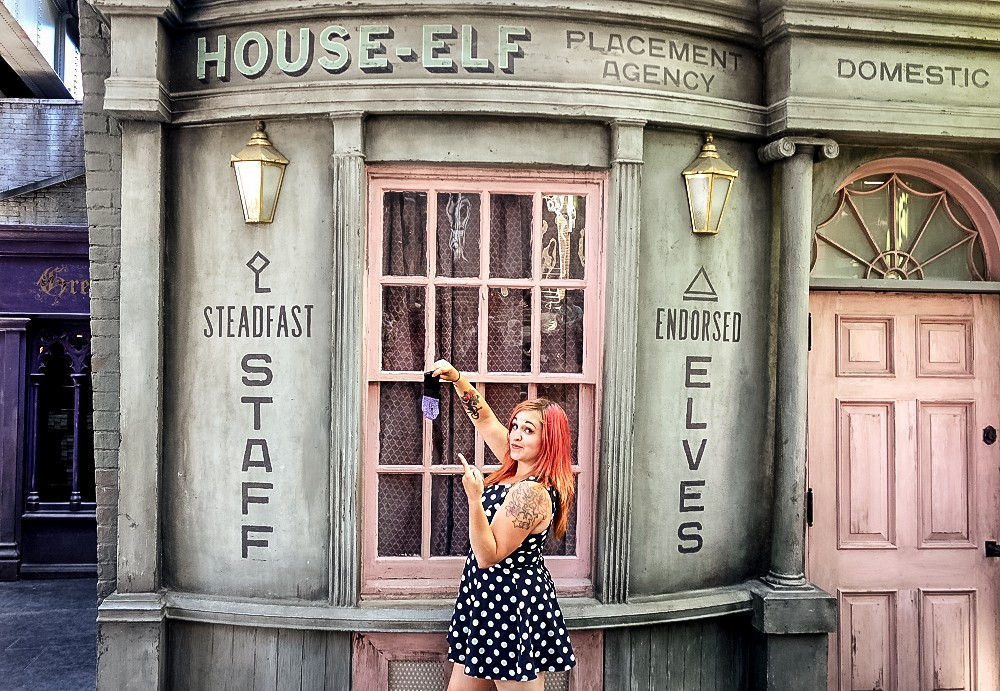 House Elf centre at Harry Potter World at Universal Studios
