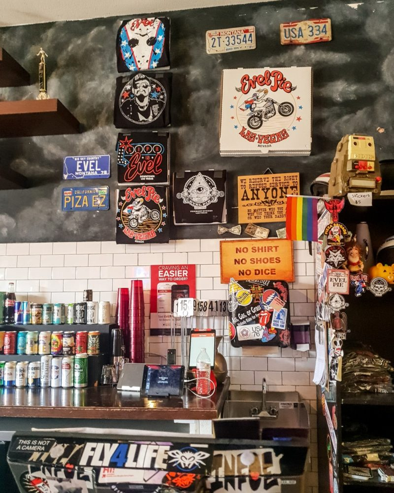 Rock'n'Roll Pizza Party: Evel Pie, Downtown Las Vegas