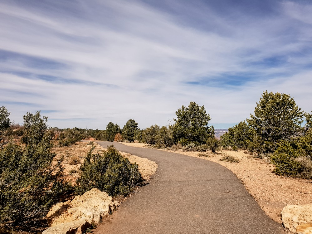 View of the Grand Canyon Rim Trail