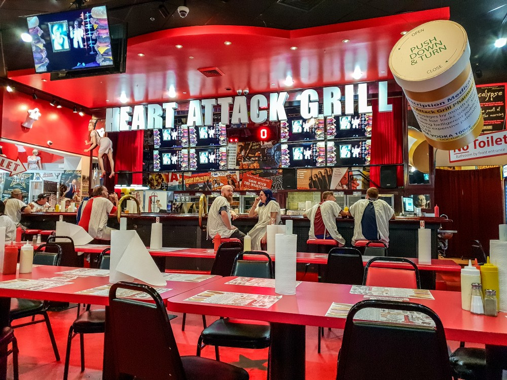 Interior of the Heart Attack Grill, Las Vegas