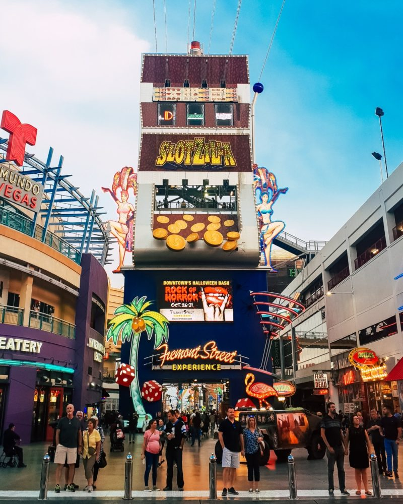 Why You Should Ride The Slotzilla Zoom Line in Vegas