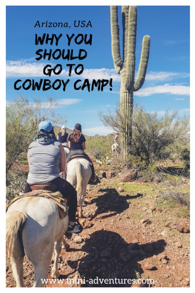 Looking for unique, authentic things to do in the USA? We took a trip to cowboy camp in the Sonoran desert for some Wild West style horse riding in Arizona. Yee-ha! | USA travel guide #usa #arizona #horseriding #travelblog