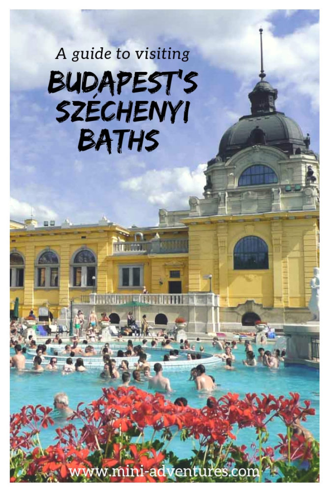 One of the essential places to visit in Budapest, Hungary; the Szechenyi Thermal Baths offer a unique experience popular with locals and tourists alike. Frequently asked questions answered: find out what to wear, what to expect, what to eat and drink. #budapest #hungary #europe