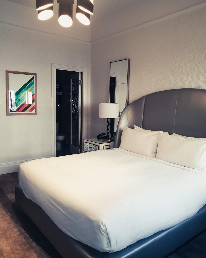 Bedroom at Galleria Park Hotel, San Francisco