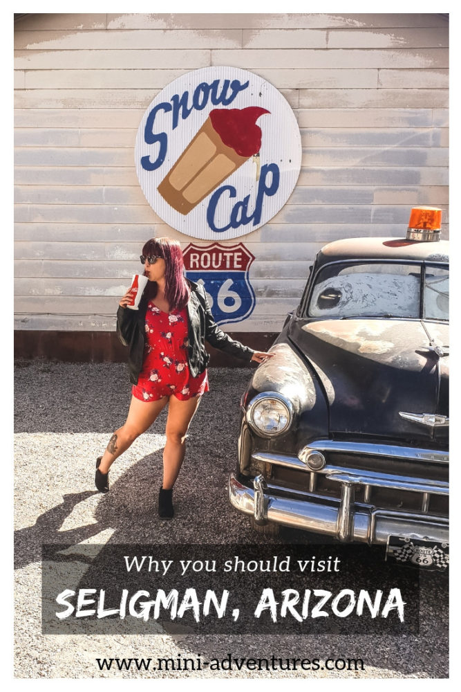 If you're looking for places to visit in Arizona, get a taste of classic Americana on a USA Route 66 road trip at Seligman, the birthplace of Historic Route 66. | USA travel guide | #usa #arizona #route66