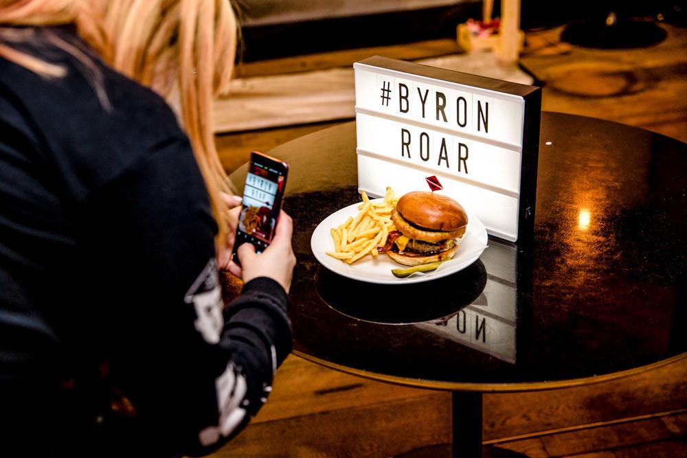 Byron B-Rex Burger
