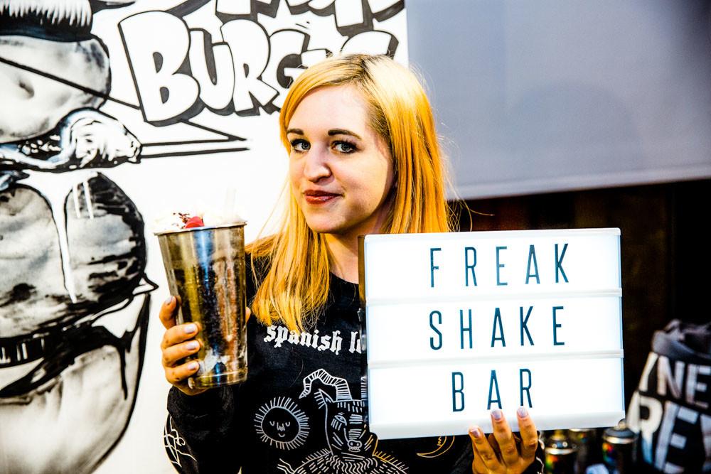 Freakshake at Byron Burgers B-Rex Launch Event