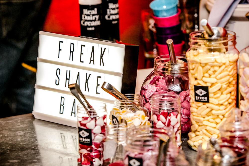 Freakshake Bar at Byron Burgers B-Rex Launch Event