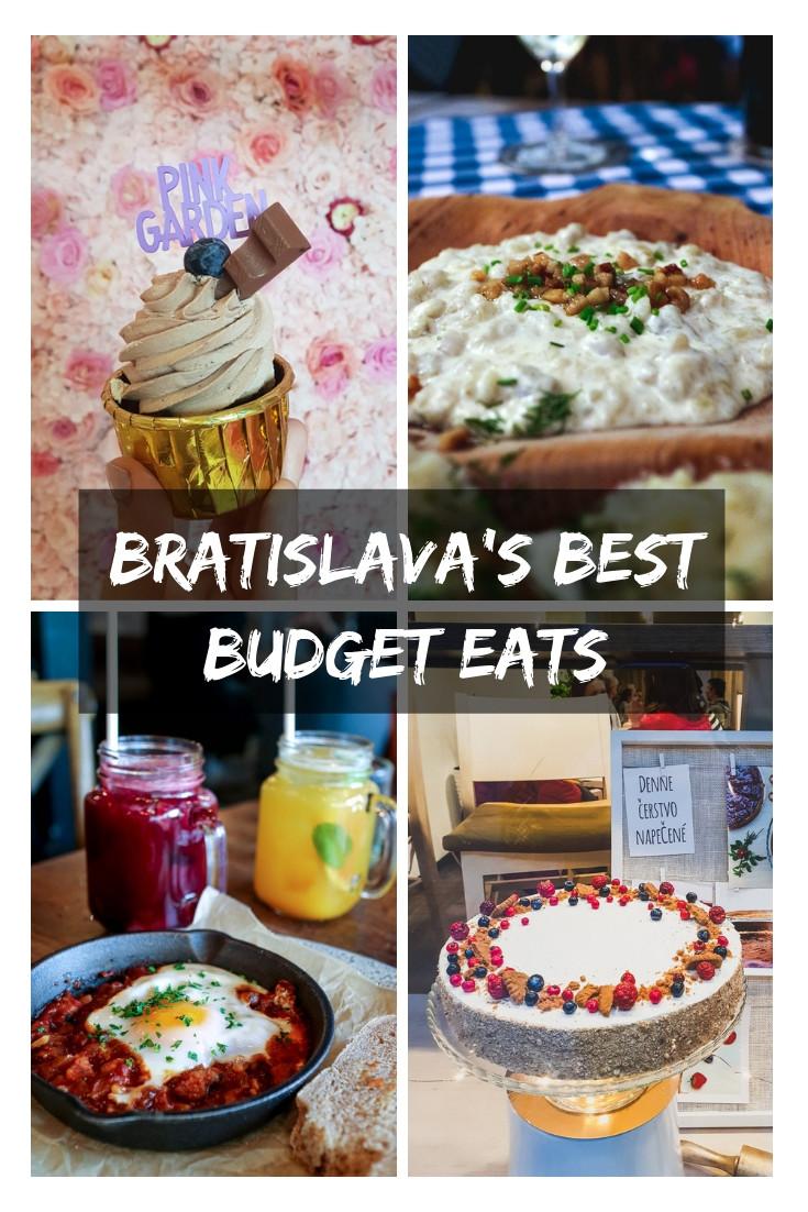 Where to eat on a budget city break in Bratislava, Slovakia - cheap food and restaurants #bratislava