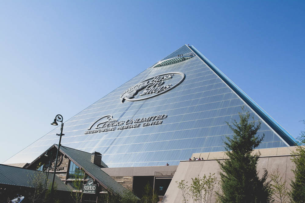 Bass Pro Store in Memphis, Tennessee