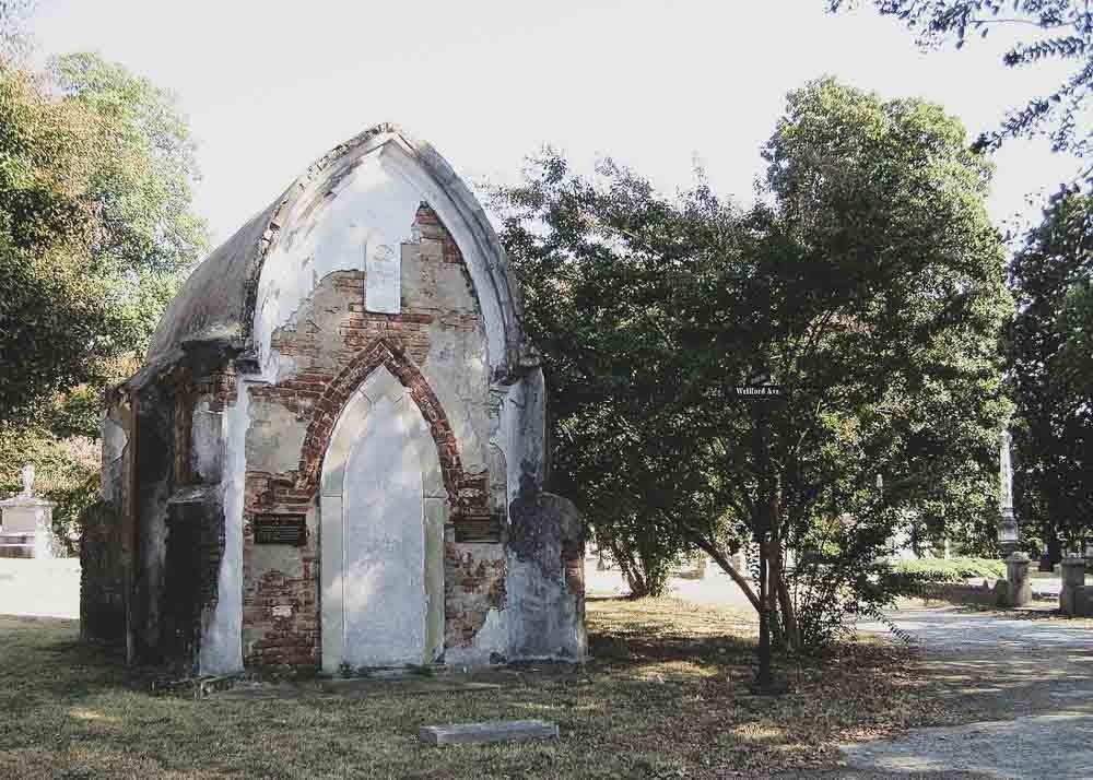 Elmwood Cemetery in Memphis, Tennessee