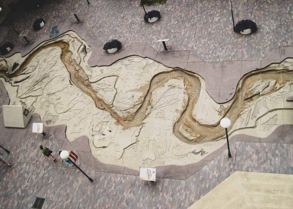 Mud Riverwalk in Memphis, Tennessee
