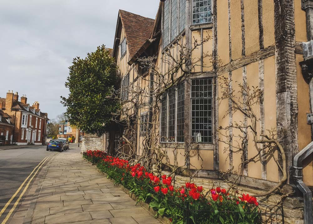 Tudor houses in Stratford-upon-Avon