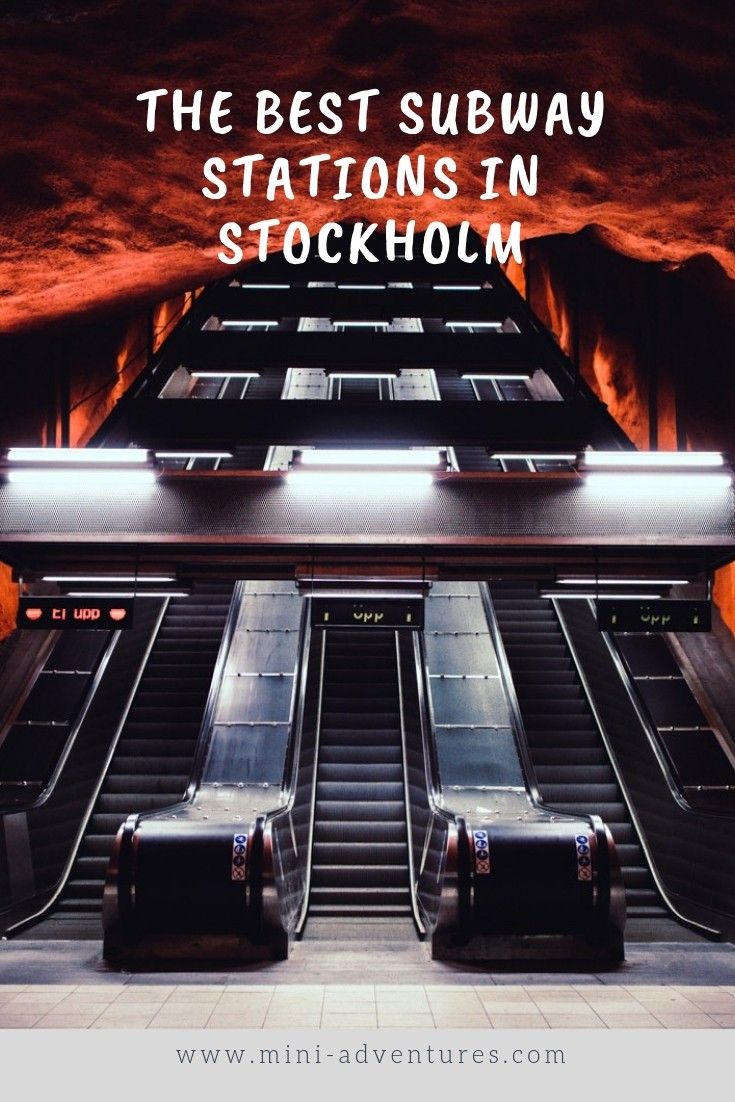 A Self-Guided Stockholm metro art tour | The best subway stations to see in Stockholm | Sweden, Europe | Travel blog | Things to do in Stockholm