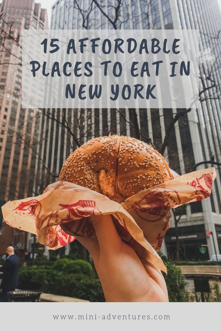15 Awesome and Affordable Places to Eat in New York City | NYC cheap eats | Breakfast in New York | Lunch in New York | New York Desserts | New York, USA, city guide