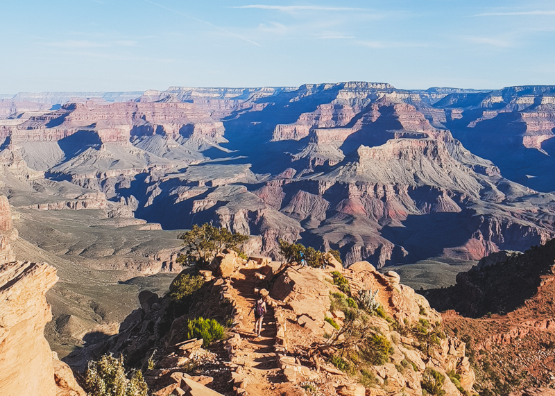 South Kaibab Trail to Skeleton Point, Grand Canyon