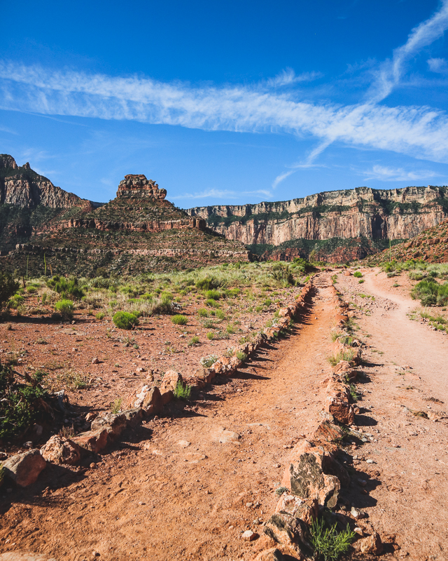 Hiking Trail in Grand Canyon