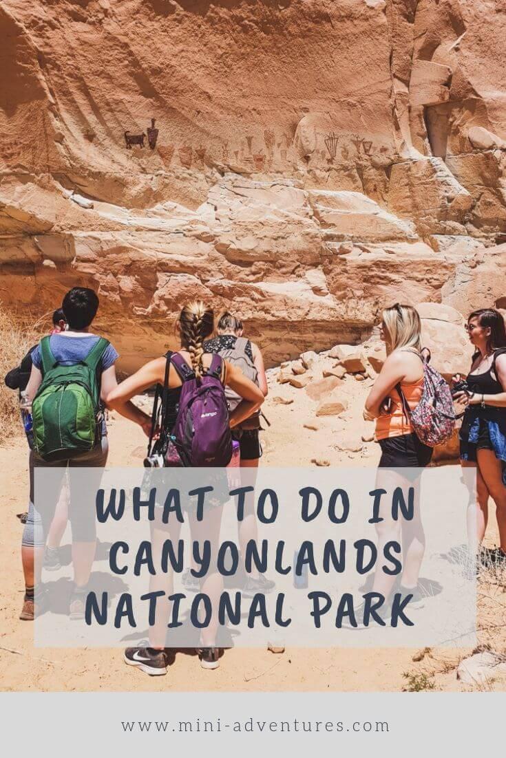 Canyoneering and Wild Camping in Canyonlands National Park, Utah #usa #adventure #utah #canyonlands